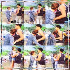 BTS again!! Daddy DJ and Baby Kath!! OMG!! Sumosobra na 'tong dalawa na 'to. Mas lalo akong naeexcite sa Crazy Beautiful You!!!  #KathNielOnRatedK 02•08•15