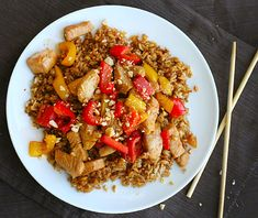 Intimitaded with cooking Asian food? Not anymore. Check out this easy and healthy Kung Pao Chicken Recipe | Healthy Asian Favorites