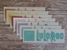 Set of 7 LulaRoe Decals with BONUS FREE white decal- Great for your personalizing tumblers, water bottles, mirrors, signs, tablets, planners by Scrapaddict30 on Etsy https://www.etsy.com/listing/462809723/set-of-7-lularoe-decals-with-bonus-free