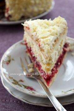 Polish Recipes, Something Sweet, No Bake Cake, Just Desserts, Vanilla Cake, Cake Recipes, Cheesecake, Good Food, Food And Drink