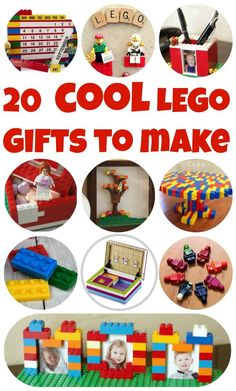 LEGO Week! 20 COOL LEGO Gifts to Make - Ideas for LEGO Birthdays, Mother's Day Gifts, Father's Day Gifts and More!