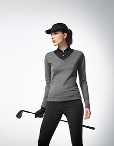 Porsche Design Sport by Adidas | Fall/Winter 2014 | Golf Style for Women #golf #sport #porschedesign