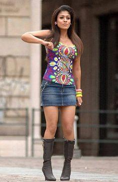 Nayanthara Hot Thigh Photos In Mini Skirt_Nayanthara Latest Hot Photos Indian Actress Images, South Indian Actress Hot, Indian Bollywood Actress, Bollywood Girls, Most Beautiful Indian Actress, Beautiful Actresses, Beautiful Heroine, Tamil Actress, Hot Actresses