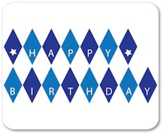 free printable mini alphabet bunting from ScrapNFonts Banners