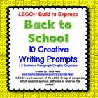 LEGO® Back to School Creative Writing Prompts My class loves LEGO® Build to Express! After getting a class set of the LEGO® Build to Express k...