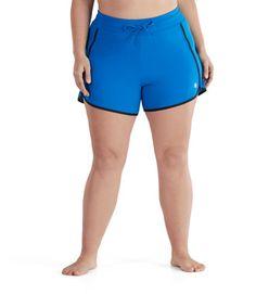 c754b58c2e835 AquaChic Surf Short Longbay | Plus Size Swimsuit Bottom | JunoActive Surf  Shorts, Plus Size