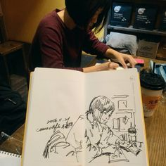 #murmur #vscocam #usk #urbansketch #urbansketchers #sketchbook #sketch #sketchwalker #diary #drawing #painting #linedrawing #watercolor #black #coffee #sketchoftheday #dailysketch #sketchwalker #stationery #taipei #doodle #文房具 #橘枳 #繪日記 #絵日記 #手帳 #橘逾淮為枳 #咖啡