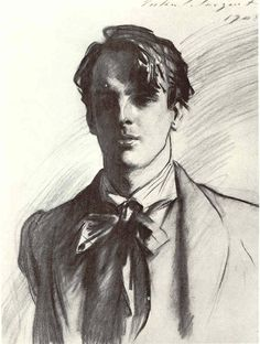 Charcoal Drawing Design Portrait of William Butler Yeats, 1908 by John Singer Sargent William Butler Yeats, Academic Drawing, Beaux Arts Paris, Drawn Art, Life Drawing, Drawing Lessons, Drawing Classes, Basic Drawing, Sketch Drawing