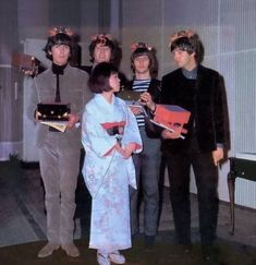 The Beatles in Japan - 15 June 1965 Photo by Koh Hasebe / Shinko Music John Lennon, Great Bands, Cool Bands, Richard Starkey, Kinds Of Dance, Beatles Photos, The Fab Four, British Invasion, Ringo Starr
