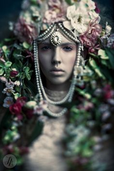 Title: Sovereign | Beautiful Savage Magazine 2014  Photographer: Lindsay Adler Model: Stephanie H at One Management