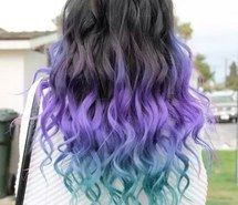 Inspiring image black, blue, hair, inspiration, ombre, pretty, purple #2845011 by Maria_D - Resolution 500x750px - Find the image to your taste