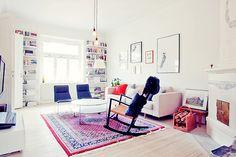 luminous scandinavian living room