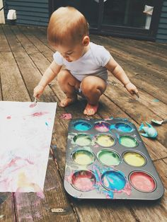 Activity Ideas for Month-Olds edible pudding finger paints Activity Ideas for Month-Olds Moments with Miss The post Activity Ideas for Month-Olds appeared first on Toddlers Ideas. 18 Month Activities, Activities For One Year Olds, Toddler Learning Activities, Infant Activities, Activities For Kids, Toddler Fun, Toddler Toys, Edible Finger Paints, Toddler Schedule