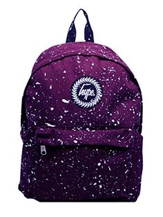 Hype Men's Speckle Backpack, Purple Cute Backpacks, School Backpacks, Mini Backpack, Leather Backpack, Hype Bags, Hype Clothing, Purple Bags, Girls Bags, Cute Casual Outfits