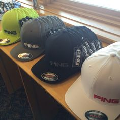 b4f78759c58 PING flexfit flatbrims! Four colourways. Mens Golf