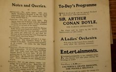 Revealed for the first time, here is the short Sherlock Holmes story written   by Sir Arthur Conan Doyle in an effort to save his favourite bridge in   Selkirk