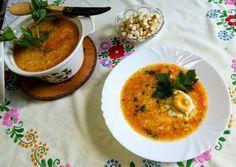 Csurgatott tojásleves recept foto Curry, Ethnic Recipes, Food, Curries, Essen, Meals, Yemek, Eten