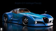 Virtual cars: Bugatti 12.4 Atlantique concept, di Alan Guerzoni