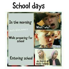 OMG so me Keep Calm And Love, My Love, Entering School, Dream Boyfriend, School Days, Norway, Fangirl, Funny Memes, Humor