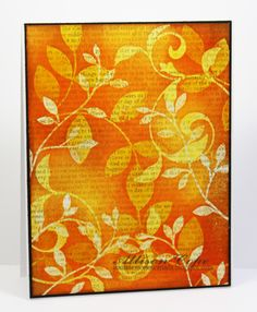 Sunset Vines by thecircleguru - Cards and Paper Crafts at Splitcoaststampers