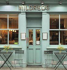 Mildreds, Convent Garden, London - restaurant with great choice of vegetarian / vegan options Vegan Restaurants London, Best Vegetarian Restaurants, Vegan Cafe, Vegan Vegetarian, Vegetarian Recipes, Vegan Food, Vegan Dishes, Raw Food, London Eats