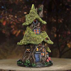 Solar Fairy House | Lighted Fairy Cottages