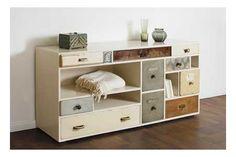 c6b4cf3ad1c281 Schubladen.de built lovely furniture out of leftover drawers … Garderobe  Flur