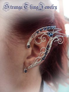 Elven ear cuffs Book of days by StrangeThingJewelry on Etsy, $39.00