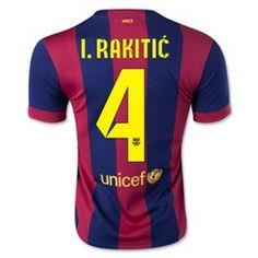 Equipacion Rakitic Barcelona primera 2014-2015