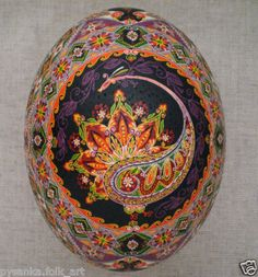 I used to do the Ukrainian egg painting. This is beautiful!