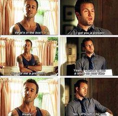 I love Steve and Danny's weird friendship!