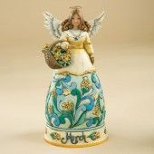 March Angel Figurine