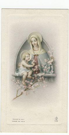 Blessed Mother & infant Jesus