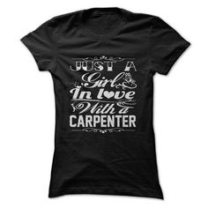 In love with a CARPENTER T Shirts, Hoodie. Shopping Online Now ==► https://www.sunfrog.com/LifeStyle/-In-love-with-a-CARPENTER.html?41382