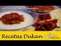 Adelgazar: Gelatina de almendra, el Annindofu de Alicia (Dukan Ataque) / Diet Almond Jelly