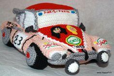 *Réservé* Doudou voiture déesse au crochet : Jeux, jouets par happyfil