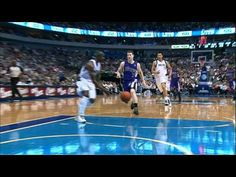 Vince Carter passes, Jason Terry tosses up  and Brandon Wright throws it down.