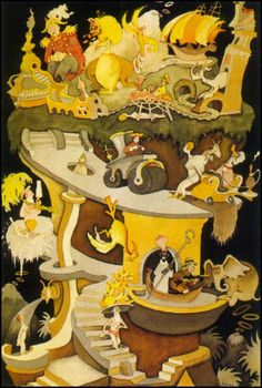"""""""Tower of Babel"""" limited edition serigraph by Dr Seuss available at the R. Michelson Galleries or at rmichelson.com"""