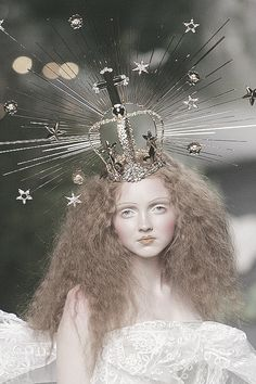 Lily Cole at Christian Dior Haute Couture Autumn/Winter 2005.