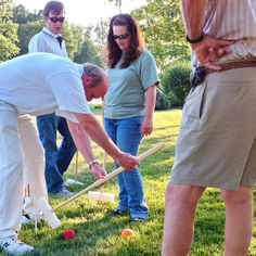 Croquet practice for upcoming County Cup. York Dispatch story, photos & video in the works