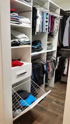 Get all the collections of Laundry Room Cabinets for the storage of your clothes from the best online closet store i.e. www.closets-now.com.
