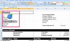 How To Make A Invoice Entrancing Your Completed Invoice  What Is An Invoice And How Can I Make One .