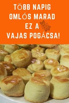 Savory Pastry, Hungarian Recipes, Whoopie Pies, Soul Food, Healthy Living, Muffin, Goodies, Food And Drink, Sweets