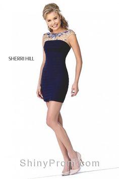 Sherri Hill 32239 Blue Dress