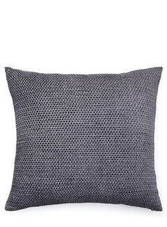 Charcoal Bobble Cushion 60x60cm