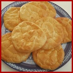 """Cloud Bread is a phenomenon. Favoured by low-carb dieters the world over,  this bread alternative is made with four simple ingredients -all slimming  world friendly.Perfect for a sandwich, burger bun or meal accompaniment. I  also think they would be a great side dish for a """"fakeaway"""" :)  Recipe     * 3 eggs     * 200g Fat Free or low fat cottage cheese or Quark     * 1 teaspoon of baking powder     * 1 tbsp artificial sweetener     * Pinch of salt and / or herbs of your choice…"""