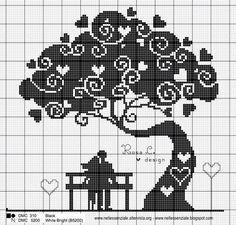 Love stitch cross