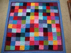 Granny Patchwork Blanket: with pattern