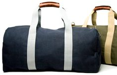 Valet.  Living  Gear  Check Out: The Canvas Carryall - Equinox Mavor Deuce Gym Bag