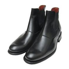 Loven by Paraboot Shoes Black Calf Chelsea Boot